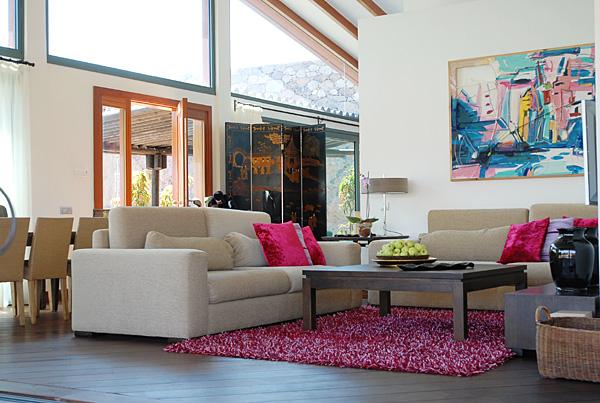 wohnzimmer villa canela - Wohnzimmer Oben Offen